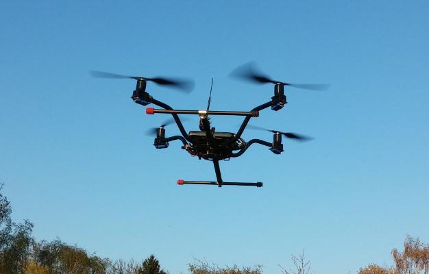 UAV-Befliegung
